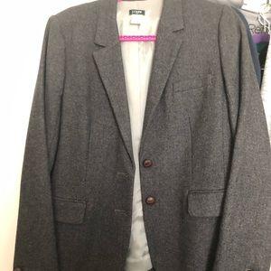 J Crew gray wool blazer